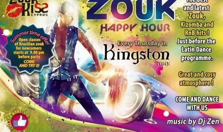 Zouk/Kizomba party at Kingston!