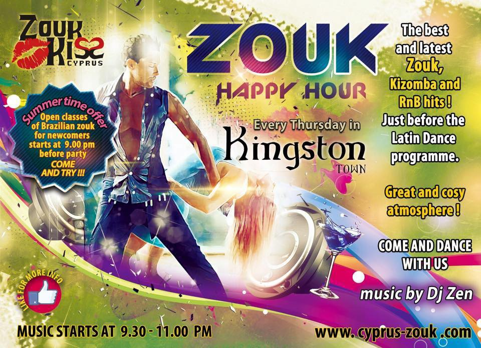 Zouk/Kizomba party at Kingston!