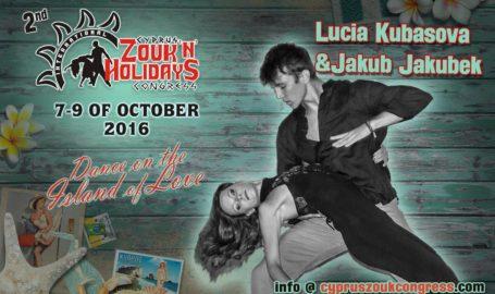 Jakub & Lucia Brazilian Zouk Demo at WestZoukTime! Brno 2016