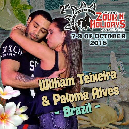 William & Paloma  @ St Peterburg Zouk Congress 2016 demo