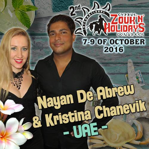 Nayan de Abrew & Kristina Zouk demo at Dutch Zouk Congress 2015