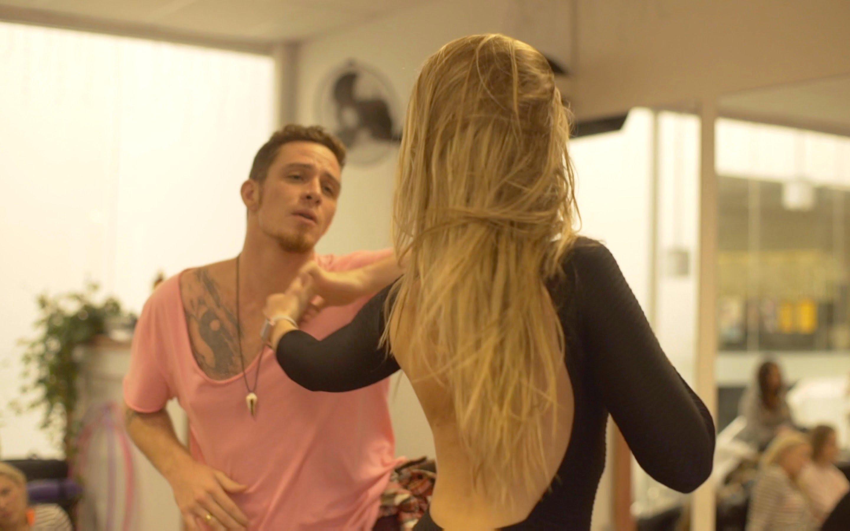 Bruno Galhardo and Layssa Liebscher // Brazilian Zouk demo in Canberra