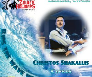 Learn traditional Greek dance with  Christos Shakallis!