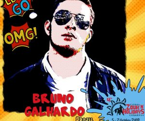 Create memory for life with Bruno Galhardo!