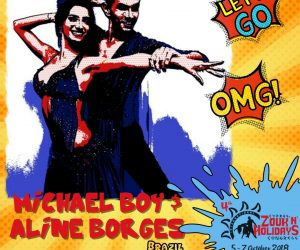 Create memory for life with Michael Boy & Aline Borges!