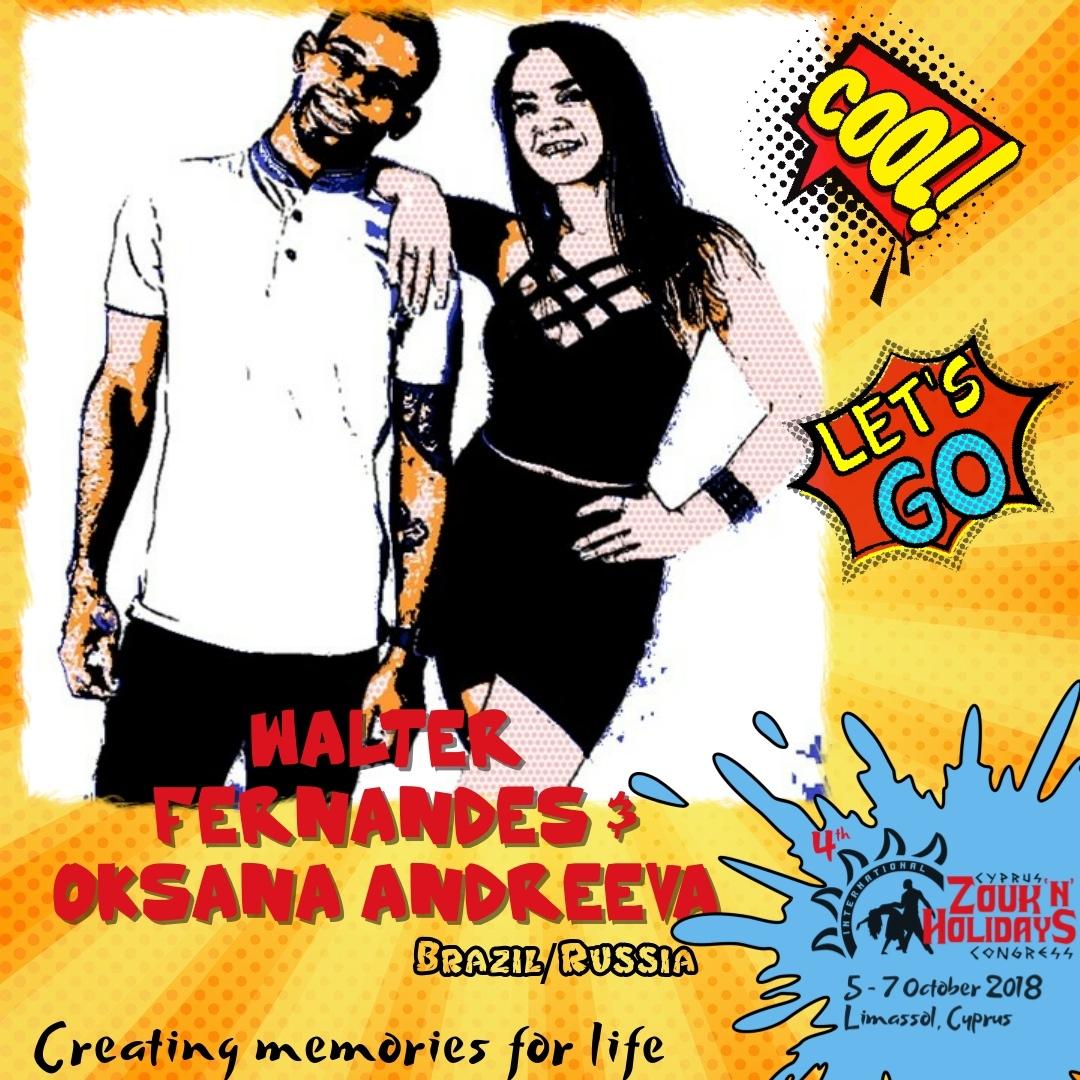 Create memory for life with Walter Fernandes & Oksana Andreeva!