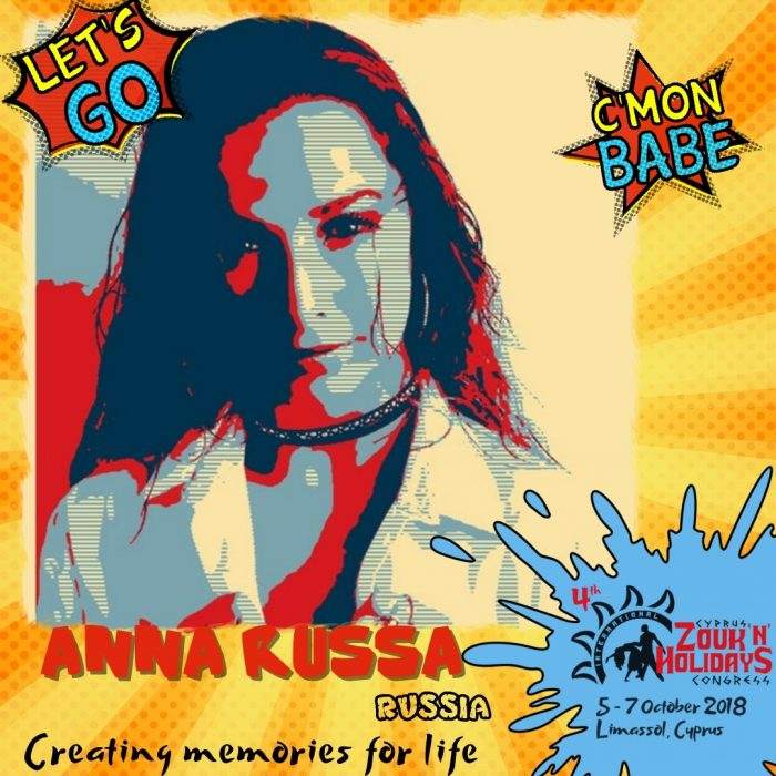 Create memory for live with Anna Russa!